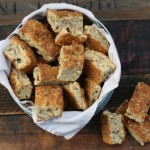 Bran and muesli buttermilk rusks with seeds recipe
