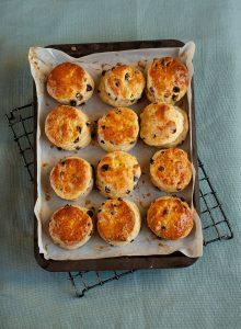 Easy raisin scones recipe