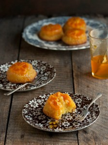 clementine upside down cakes