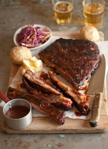 sticky barbecue chipotle ribs