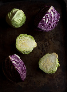 braised cabbage salad