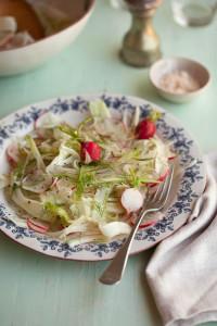 fennel and radish salad