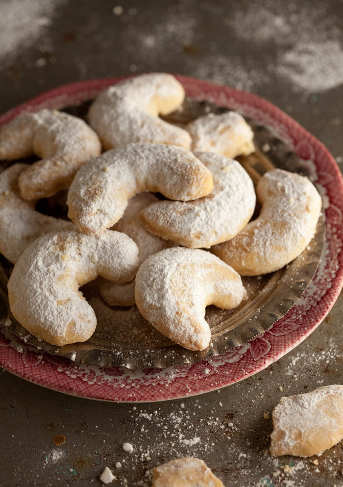 Greek shortbread cookies