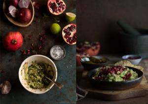 pomegranate guacamole