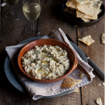 baked ricotta with lemon and chilli
