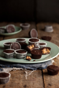 home made peanut butter cup