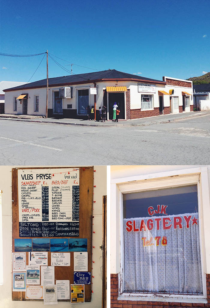an old world butchery in Steynsburg