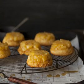 Pineapple-upside-down-cakes
