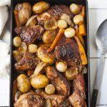 Red wine roast chicken recipe