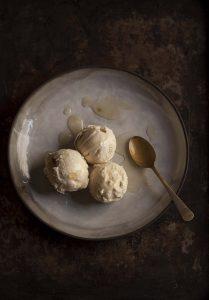 ginger miso ice cream