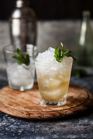pineapple and ginger mint julep