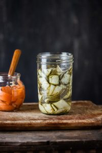 quick and easy zucchini pickles