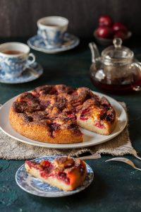 perfect plum torte