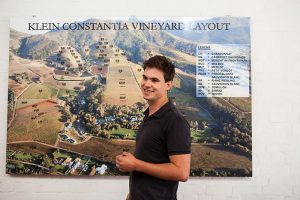 Matthew Day - winemaker at Klein Constantia Wine Estate