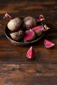apple, beet and ginger juice