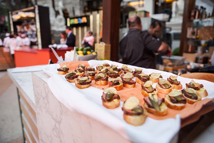 The Grand Tasting, Garden of the Gods Pool Oasis, Caesars Palace, Las Vegas, Vegas uncork'd