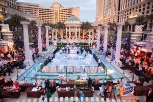 The Grand Tasting, Garden of the Gods Pool Oasis, Caesars Palace, Las Vegas, Vegas uncork'd
