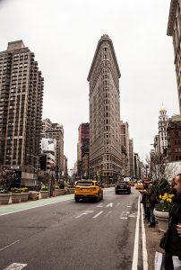 The Flatiron Building, Midtown, Manhattan