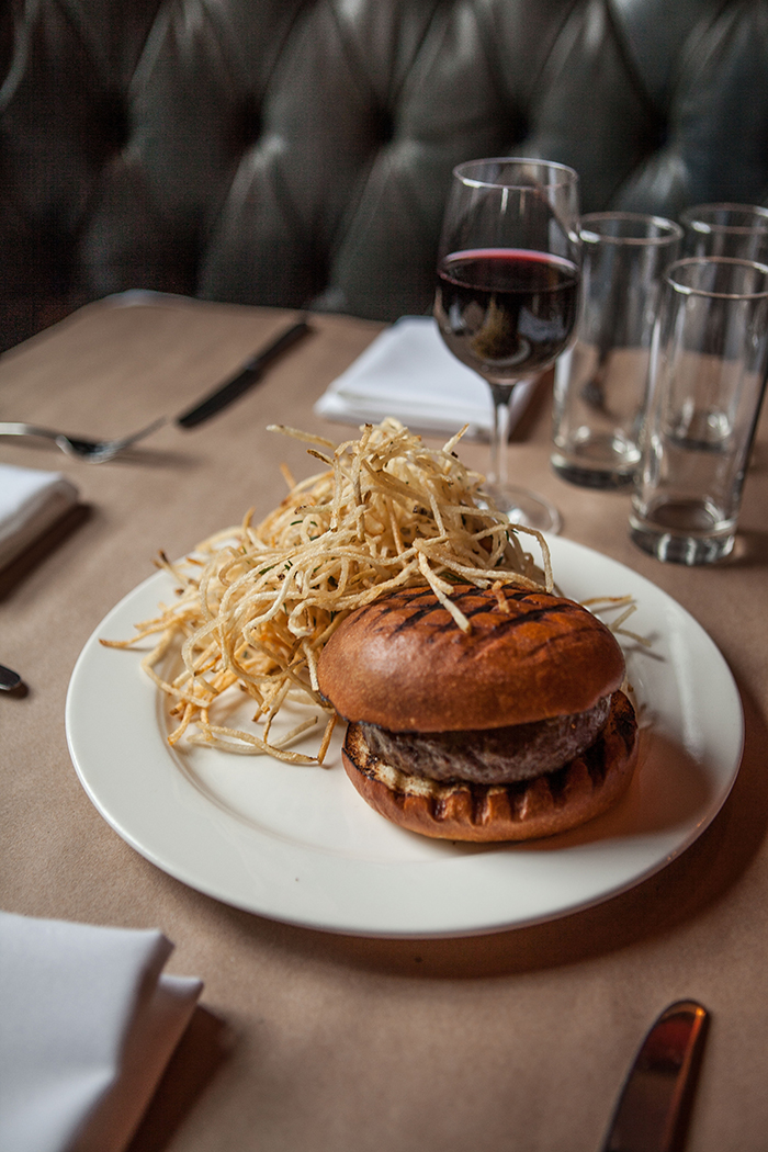 The Burger at the Spotted Pig, NYC