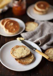 wholewheat english muffins