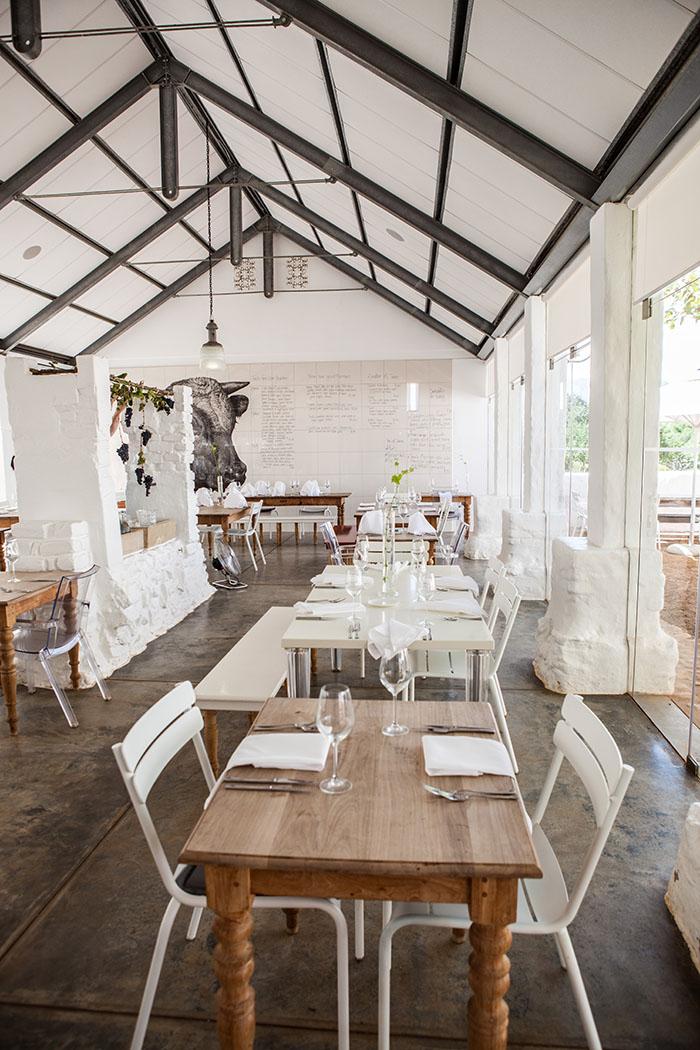 Babel Restaurant, Babylonstoren, Franschhoek, South Africa