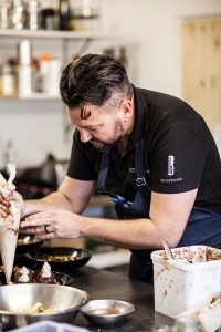 A lunch at Vondeling with Bertus Basson