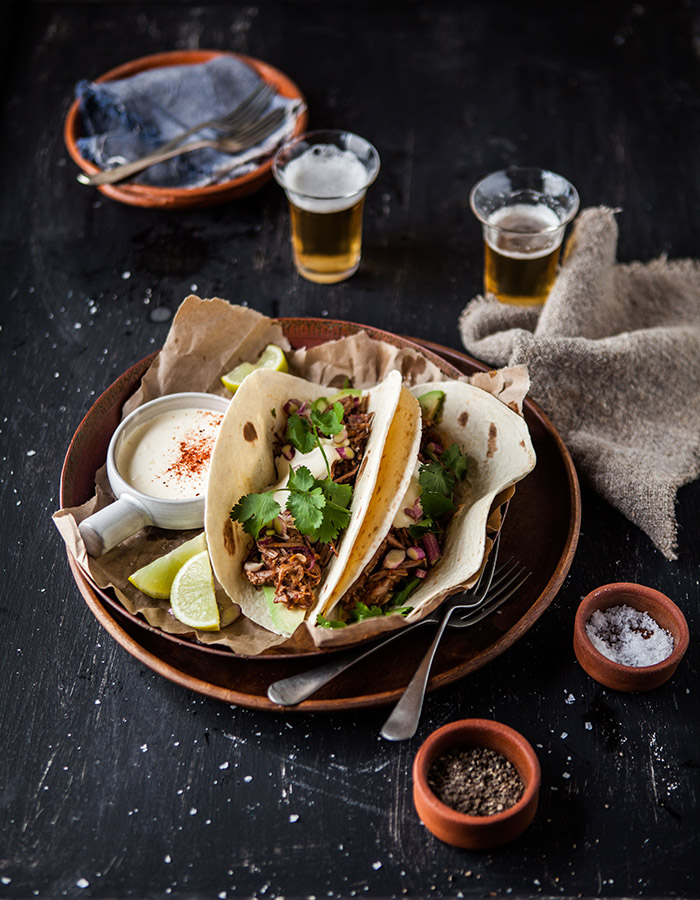 slow cooker mexian short rib tacos