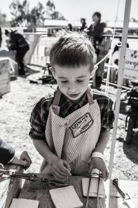 The Kids Braai competition at the !Naba Festival