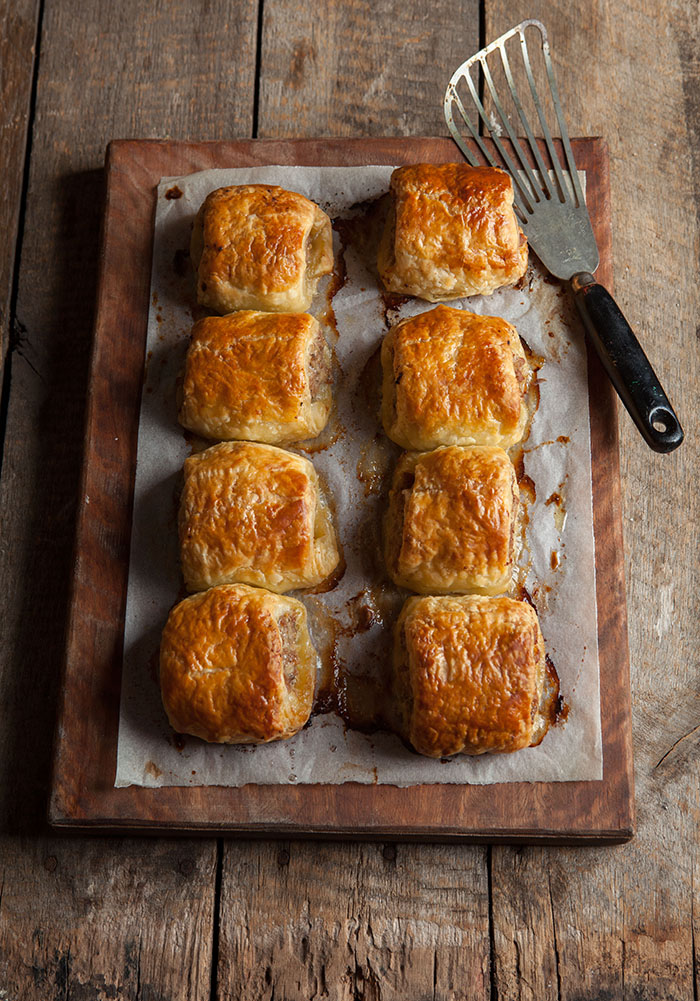 pork pies with sage and apple