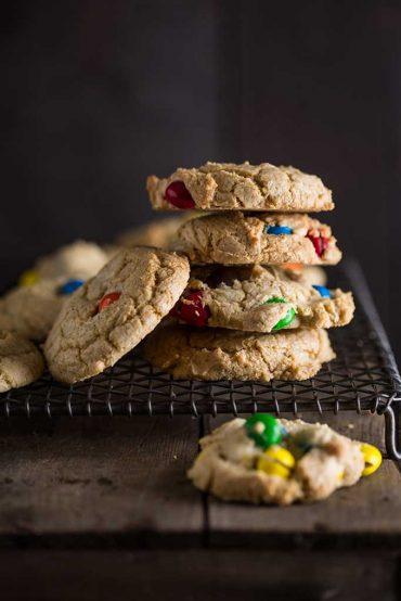 peanut butter m & m cookies