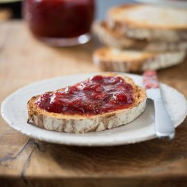 the best ever 8 minute strawberry jam