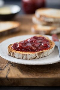 the best 8 minute strawberry jam