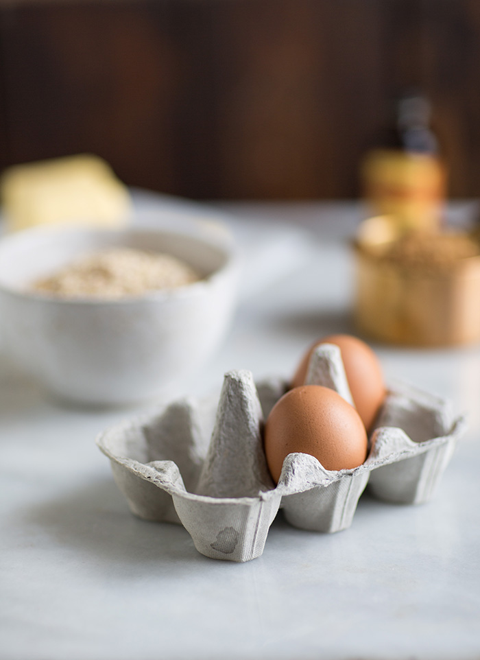 eggs and baking ingredients
