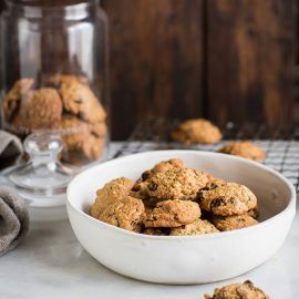 The best oatmeal, raisin & almond cookies