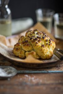 how to make the very best whole roasted cauliflower