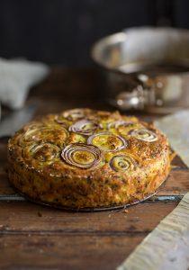 cauliflower cake by ottolenghi
