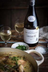 De Wetshof Chardonnay for a delicious Coq au Chardonnay