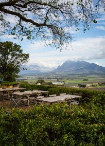 views form the spice route in Parr, Western Cape, South Africa