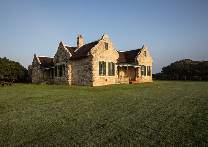Melkkamer Manor House, De Hoop Nature Reserve, Western Cape, South Africa