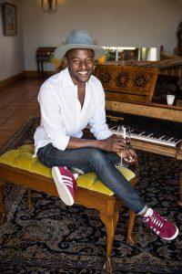 Seth Sheri at FABER restaurant at Avondale Wine Estate in Paarl