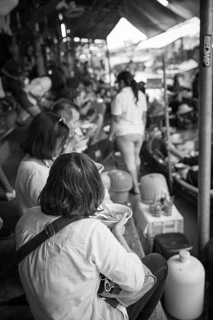 Damnoen Saduak floating market , Bangkok, Thailand