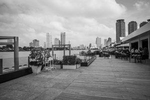 View of Bangkok from the Ramada Plaza Menam Riverside Hotel