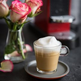 How to make a Cappuccino à la rose