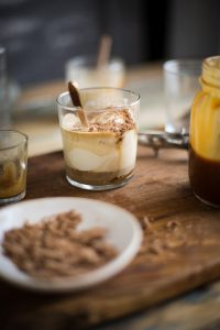 How to make a salted caramel affogato