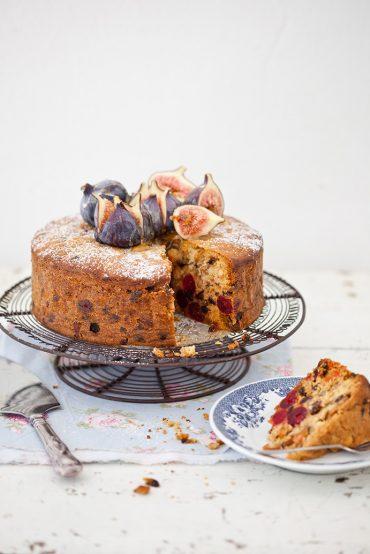 My farourite easy fruit and n ut cake