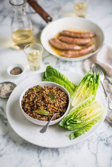 The perfect lentil salad
