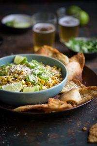 Esquites - the living best mexican corn salad