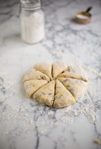 Quick and easy cranberry & orange scones