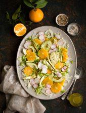 a delicious avocado & orange salad recipe with fennel