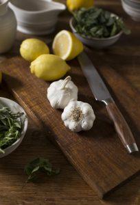 Roast chicken with lemon & oregano